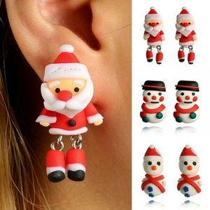 Jewelry - snta Claus earrings